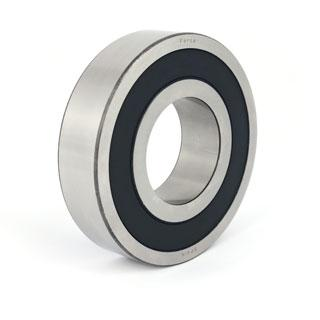 Part Number 6301-2RSR by FAG Deep Groove Ball Bearing, type, cross reference and dimension