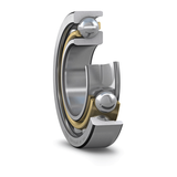 Part Number 7206-ACD-P4A by SKF Angular Contact Ball Bearing, type, cross reference and dimension