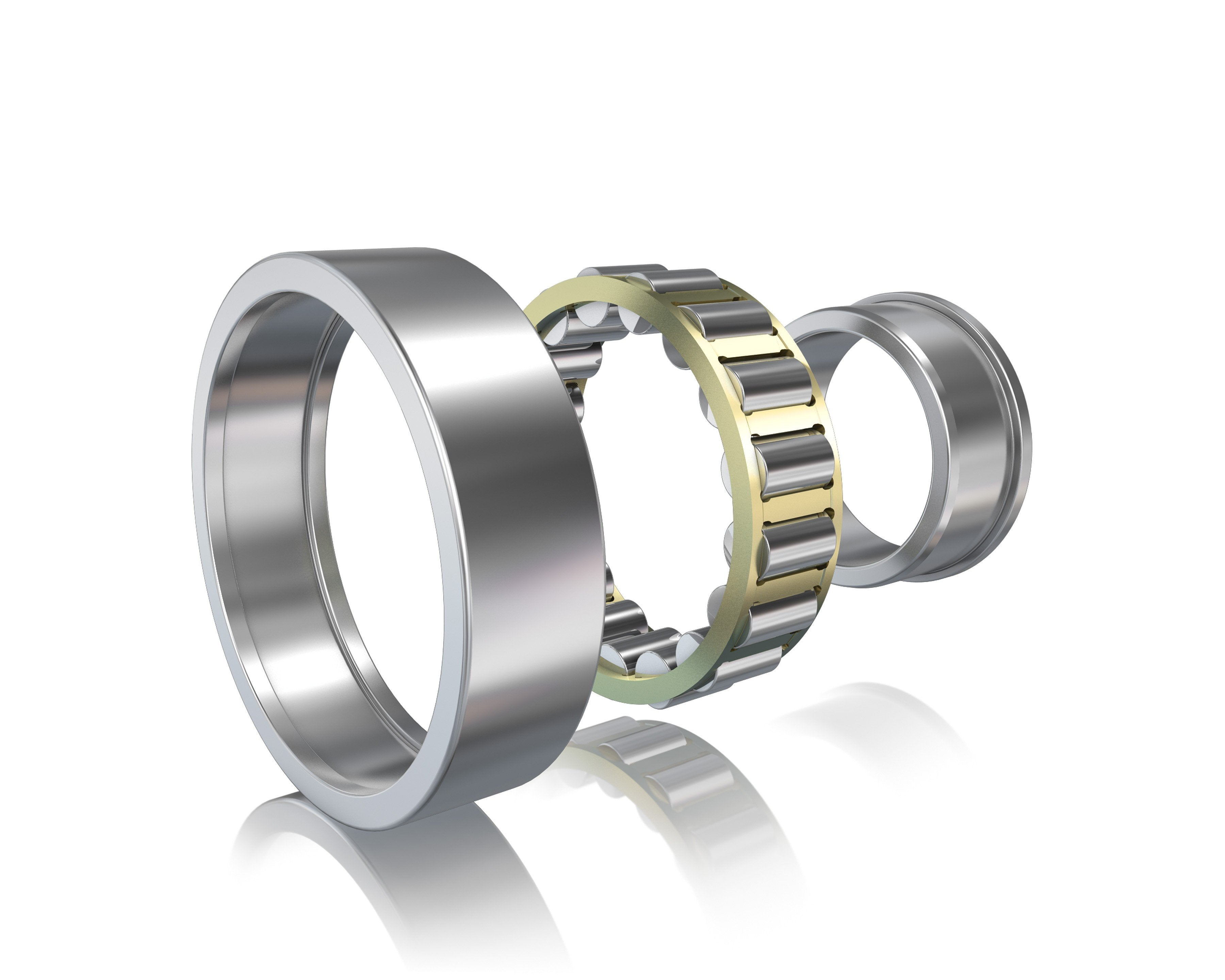 NJ2208-ECP-C3-SKF, Bearings, Cylindrical roller bearings