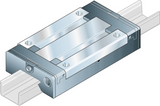 Part Number R044421201 by BOSCH REXROTH Linear Guideway Carriage, type, cross reference and dimension