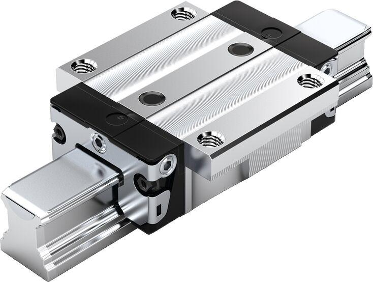 Part Number R165129320 by BOSCH REXROTH Linear Guideway Carriage, type, cross reference and dimension