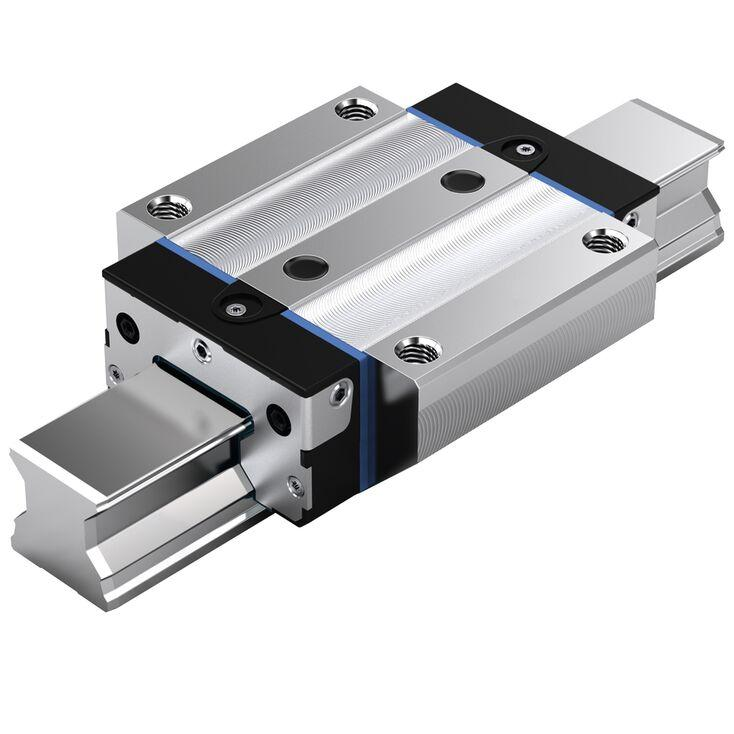 Part Number R185122310 by BOSCH REXROTH Linear Guideway Carriage, type, cross reference and dimension