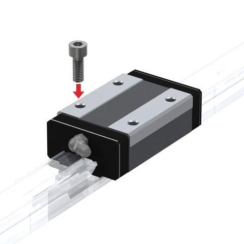 Part Number SSR35-XWSS by THK Linear Guideway Carriage, type, cross reference and dimension