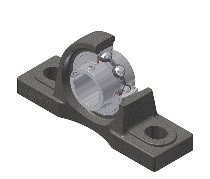 Part Number SUCP211 by SNR Plummer Block Housing, type, cross reference and dimension