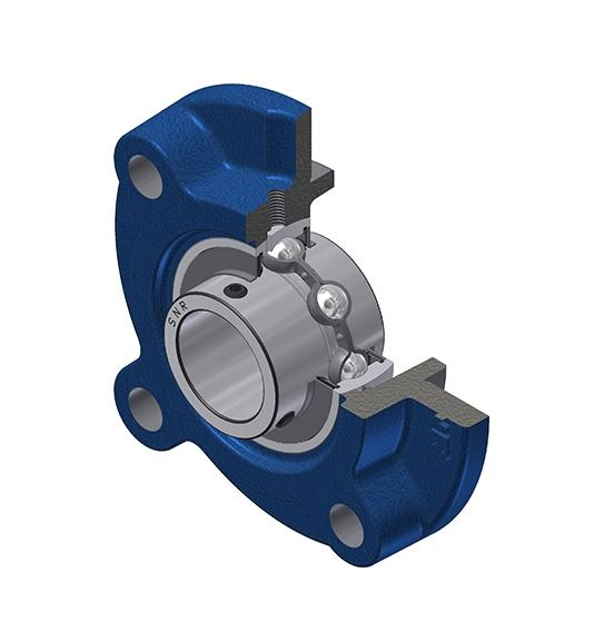 Part Number UCFC212 by SNR Flanged Housing Unit, type, cross reference and dimension