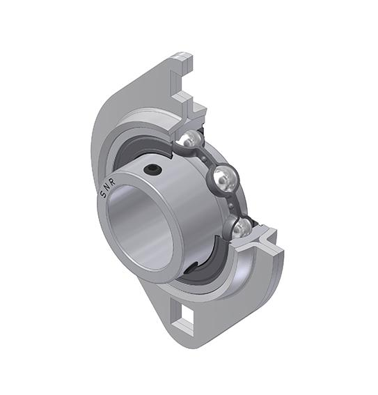 Part Number USPFL206 by SNR Flanged Housing Unit, type, cross reference and dimension