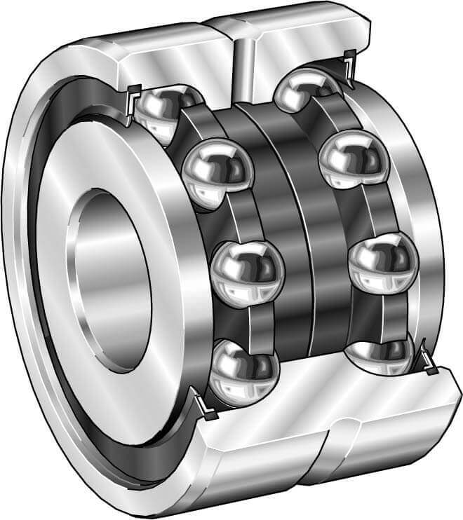 Part Number ZKLN5090-2RS by INA Angular Contact Ball Bearing, type, cross reference and dimension