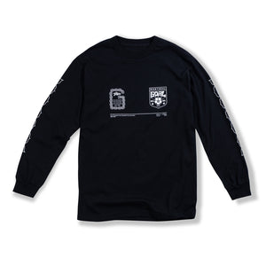 "Black ""Chain Links"" Long Sleeve"