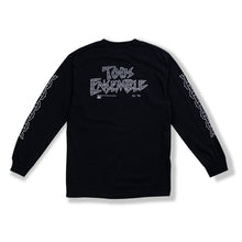"Load image into Gallery viewer, Black ""Chain Links"" Long Sleeve"
