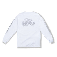 "Load image into Gallery viewer, White ""Chain Links"" Long Sleeve"