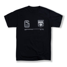 "Load image into Gallery viewer, Black ""Tous Ensemble"" T-Shirt"