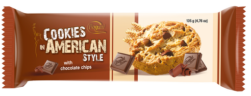 Bogutti American Chocolate Chip Cookies 135g