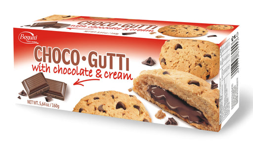 Bogutti Choco-Gutti American Cookies With Chocolate Cream 160g