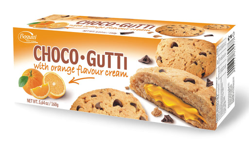 Bogutti Choco-Gutti Cookies with Orange Cream 160g