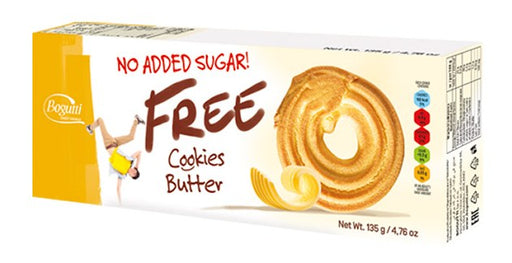 Bogutti No Added Sugar Free Butter Cookies 135g