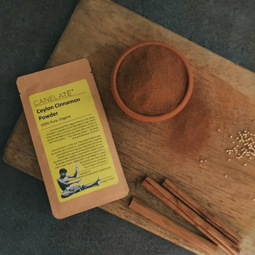 Organic Ceylon True Cinnamon Powder 50g