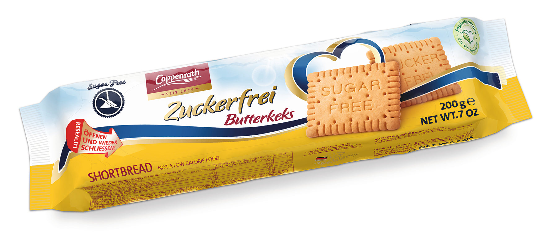 Coppenrath Sugar-Free Butterkeks 200g