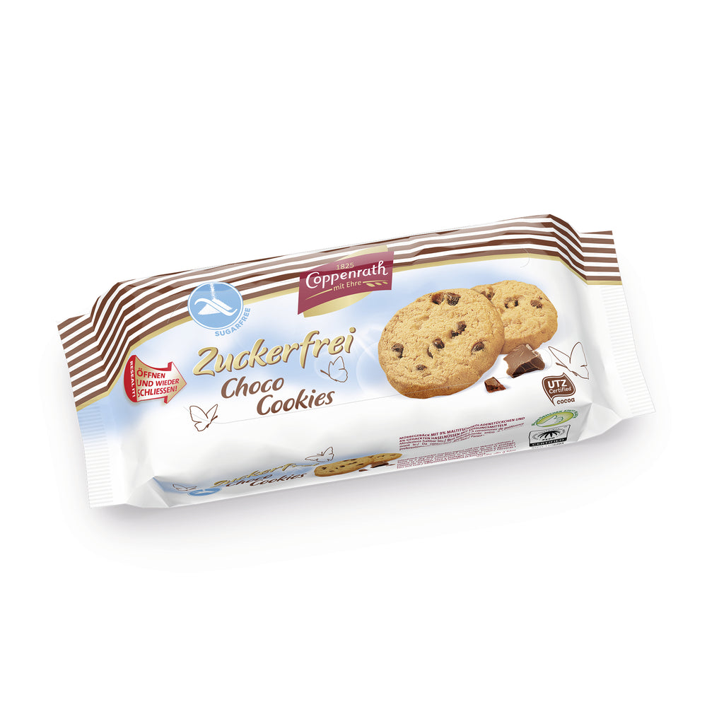 Coppenrath Sugar-Free Choco Cookies 200g