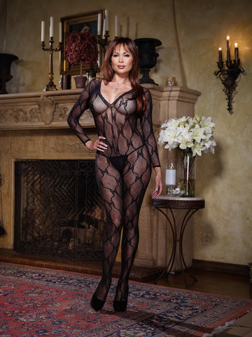Bodystocking DG 0019X Black