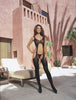 Bodystocking DG 0031 Black or Neon Pink