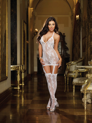 Bodystocking DG 0074 White
