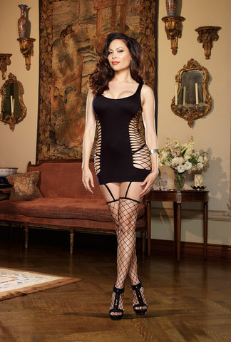 Bodystocking DG 0102X Black