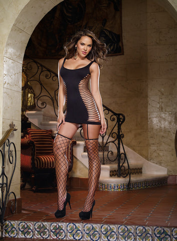 Bodystocking DG 0102 Black