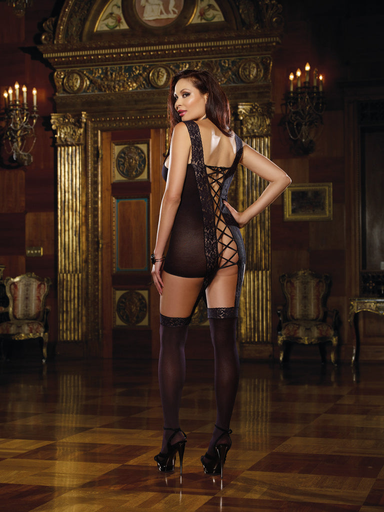 Bodystocking DG 0144X Black