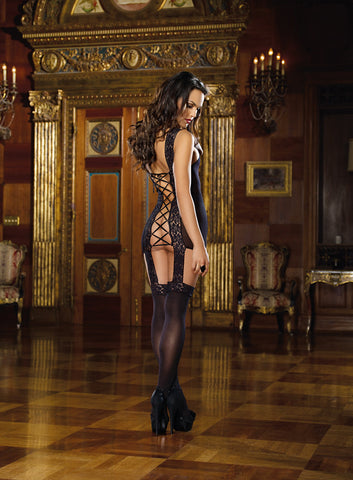 Bodystocking DG 0144 Black