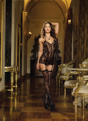 Bodystocking DG 0145 Black