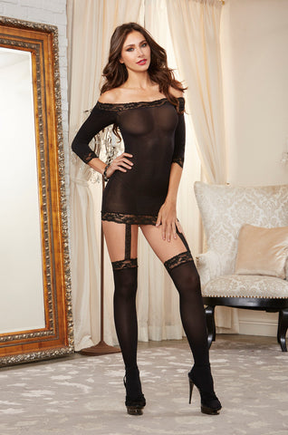 Bodystocking DG 0237 Black