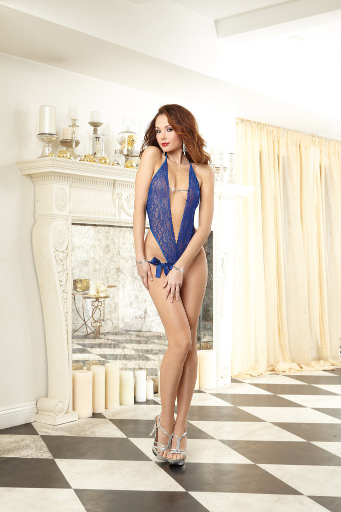 DG RD 10053 Sapphire Lace Teddy