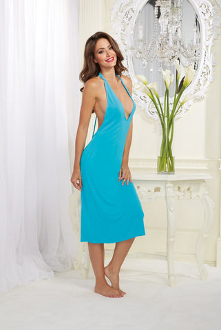 DG 10130 Midi Length Gown