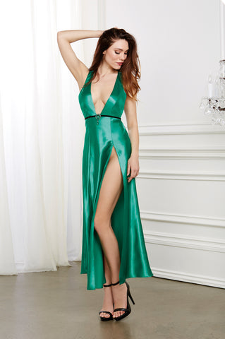 DG 10408 Satin Gown