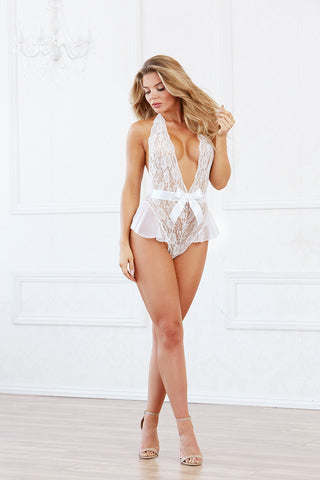 DG WD 10583 Galloon Lace Teddy