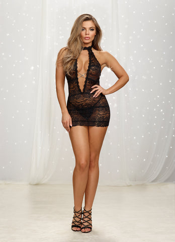 DG RD 10964 Galloon Lace Chemise