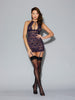 Dreamgirl Red Diamond 11028 Eggplant Chemise buy at femmefatale lingerie Singapore