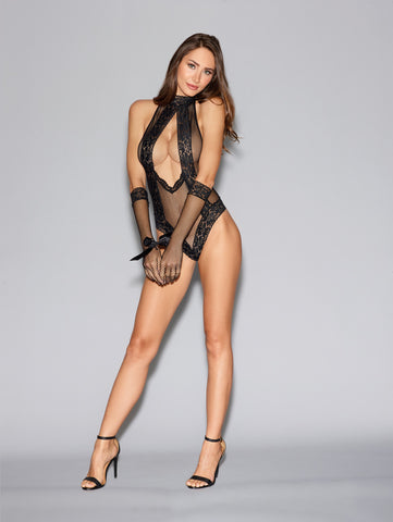 DG RD 11040 Fishnet Teddy