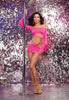 Dreamgirl Dance Wear DG CD 9747 Neon Pink O/S
