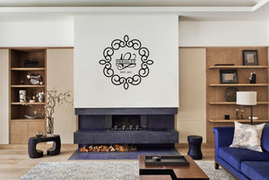 Wall Decal- Family Monogram