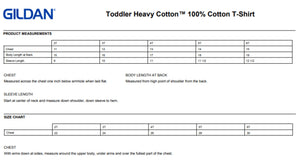 Toddler t-shirt style options