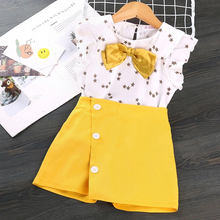 Load image into Gallery viewer, 'As If' Yellow Skirted Set - KoKo Bean