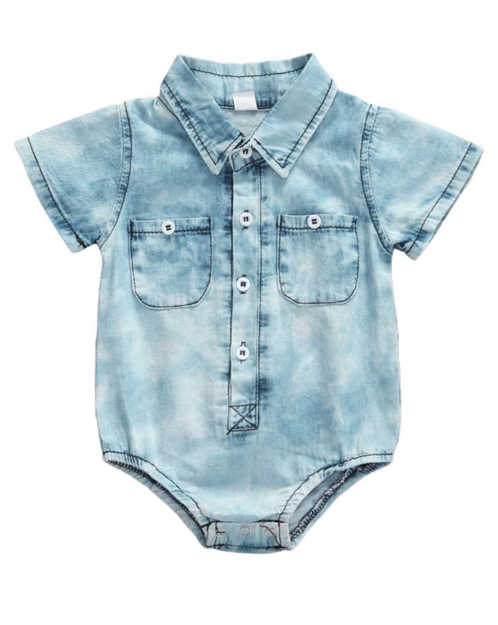 Cool Denim Onesie - KoKo Bean
