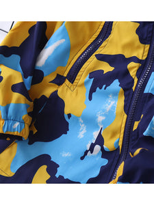 KKB Camo Windbreaker - KoKo Bean