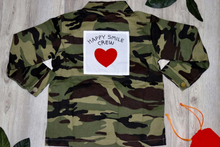 Load image into Gallery viewer, The Happy Smile Camo Crew Top - KoKo Bean