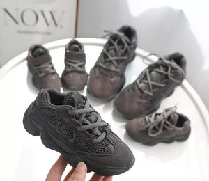 Charcoal Marshmallow Sneaks - KoKo Bean