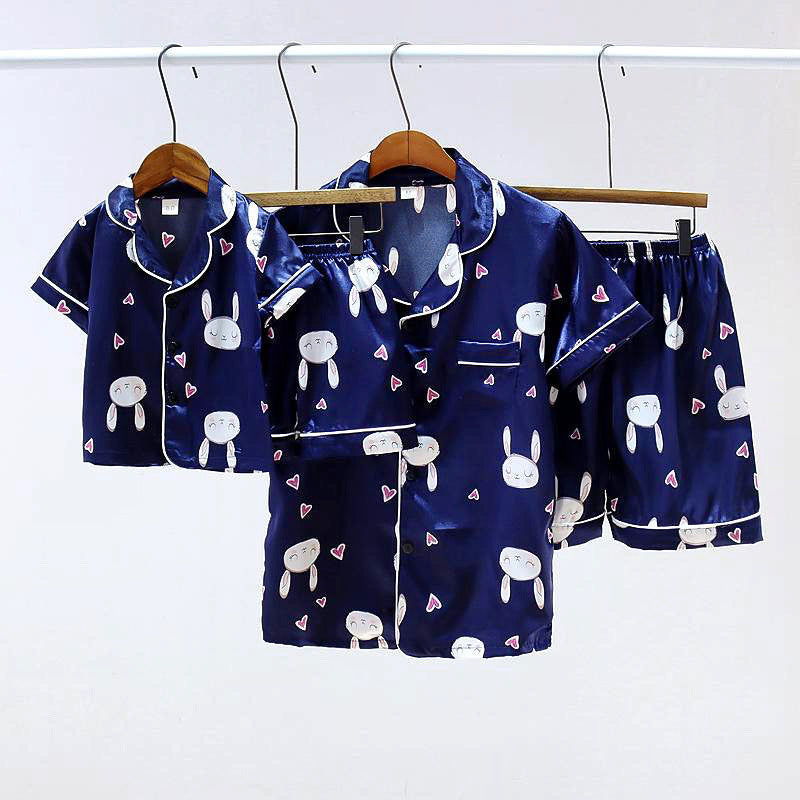 Mommy and Me Blue Bunny PJ Set - KoKo Bean