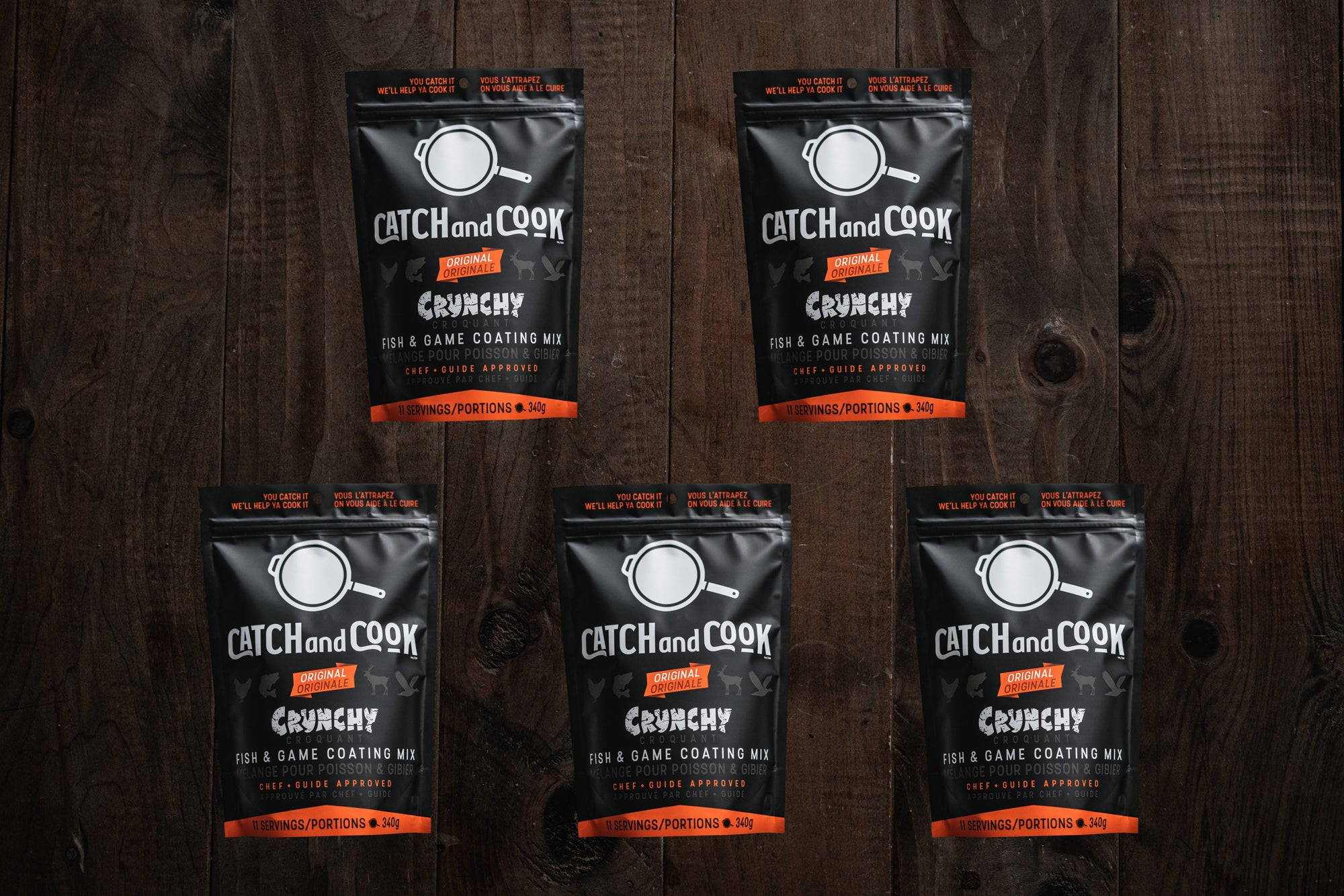 Catch And Cook - Original - 5 Pack