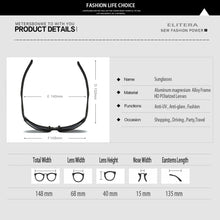 Cargar imagen en el visor de la galería, Polarized Sunglasses Men Fashion Sun Glasses Travel Driving Male Eyewear