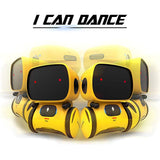 Cute Interactive Toy Robot Dance Walking Companion Toys English Speaking Recording Dialogue Toy